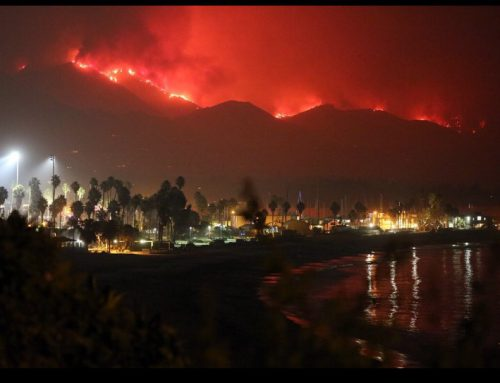 SANTA BARBARA ON FIRE