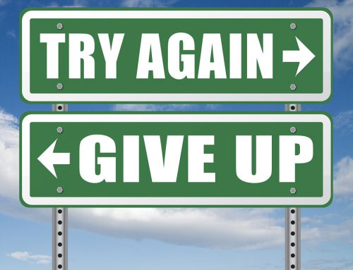 READY TO GIVE UP? ME TOO…