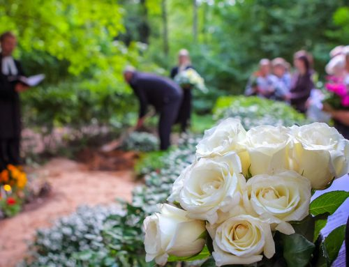 STRANGER AT HER FUNERAL; WHO WAS HER TRUE LOVE?